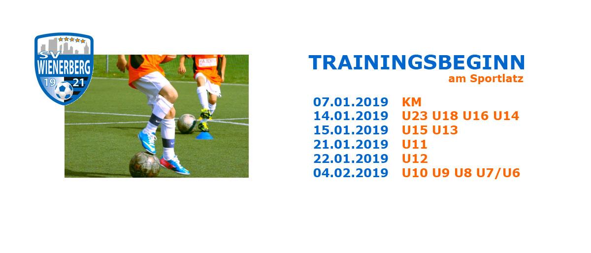 Permalink auf:Trainingsbeginn